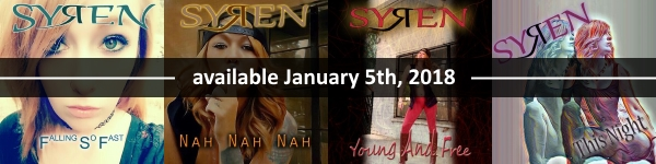 Syren Upcoming Releases Jan 2018